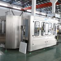 China Water Rinsing Filling Capping 3 In 1 Monoblock Bottling Machine Full Automatic for sale
