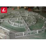 Customized Aluminum Lighting Truss , Curved Support Space Frame Truss for sale