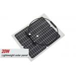 ETFE Film Sungold 20 Watt Monocrystalline Solar Panel With IP67 Junction Box for sale