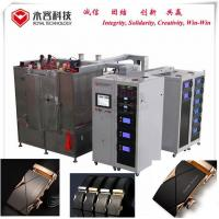 Genuine Leather Belt Gold Plating Machine / IPG Gold Vacuum Coating Plant for sale