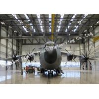 Customized Design Aircraft Hangar Buildings With Sliding Doors And Sandwich Panel Systems for sale