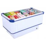 China Manual Defrost 535L Commercial Chest Freezer With Static Cooling System for sale