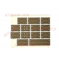 High Frequency PCB , 2 Layer , Rogers RO4350B Material , No Solder Mask , ENIG