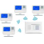 Energy Saving RF Room Thermostat For Heating And Cooling 1 To 4 for sale