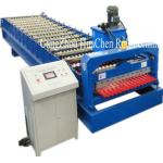 High Speed Corrugated Wall And Siding Panel Roll Forming Machine , Metal Wall Siding Sheet Making Machine for sale