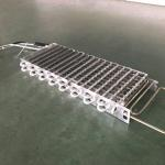 Finned Type Evaporator With Aluminum Material Tube And Fin For Refrigeration Equipment for sale
