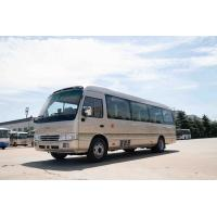 China Front Cummins Engine Toyota Costa Bus , 7.7M Toyota Minibus 31 Seats Capacity for sale