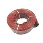 China Heavy Duty PVC Layflat Hose / Non Smell Flexible Irrigation PVC Lay Flat Water Discharge Pump Hose for sale