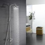 China Hot And Cold Water Stainless Steel Bathroom Shower With One Stop Service for sale
