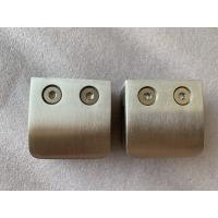 China 52 * 52mm Stainless Steel Glass Clamps Square Glass Clamps High Performance supplier