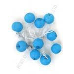 Romantic Round Paper Ball String Lights , Indoor Mini Lantern String Lights for sale