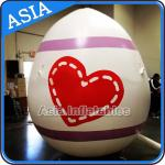 Egg Shape Helium Balloon And Blimps Inflatable Easter Balloons Customized Large for sale