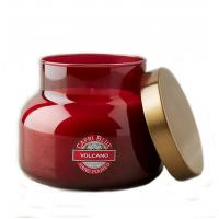Custom Candle Jar Scented Jar Candle With Metal Lids Folding Box Packaging for sale
