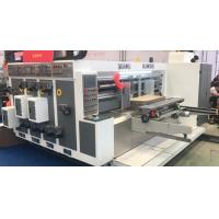 Flexo Printing Die Cutting Corrugated Carton Machine Full Automatically for sale