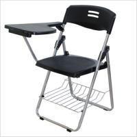 China School Student Folding Training Chair With Writing Conference Pad Table Plastic Book Basket supplier