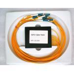 Environmental Stable 1×8 PLC Fiber Optic Splitter for CATV Systems & Fiber Sensors