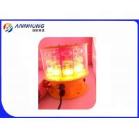 Red And White Dual Aeronautical Obstruction Light , Medium Intensity Aircraft Warning Lights for sale