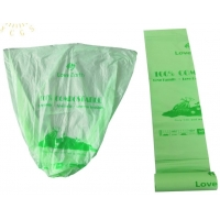 Disposable Garbage Bags Compostable Kitchen Trash Bags