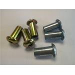 Customized Zinc Alloy Die Casting Zinc Alloy Screws / Nuts Zinc Plating Die casting Chome plating for sale