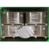 China FSC Certified good bulk thickness 250gsm 270gsm 300gsm C1S ivory board fold in roll for sale