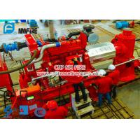 China Diesel Engine Driven Fire Water Pump Set With 6 stage Multistage Vertical Turbine Fire Pump With 250 Usgpm for sale