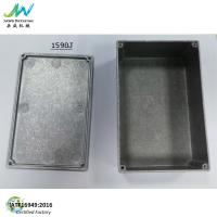 China 1590J Die-Cast Aluminum Enclosure For Stomp Box IP54 dimension 5.7x3.74x1.95 for sale