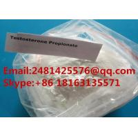 Test Propionate Raw Muscle Growth Steroid Testosterone Propionate Powder CAS 57-85-2 for sale