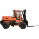 China Rated Load 3.5 Ton Small Forklift Wheel Loader W35 With XINCHAI 490 Engine for sale