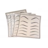 China Gray Two Sides Available Eyebrow Line Permanent Makeup Practice Skin for sale