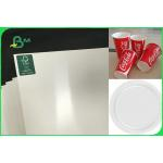 China Customized Single Side PE Coated Paper For Disposable Plates FSC FDA Approved for sale