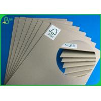 China Customized Grey Back Board 2MM Size Mixed Pulp Material For Making Folder for sale