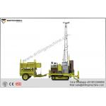 23.5kw Engine Drill Rig Machine Self - Propelled With Full Hydraulic Core for sale