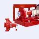 China UL Listed  FM Approved 300gpm @125psi Electric Motor Driven Fire Pump Set with Jockey Pump for sale