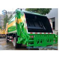 Dongfeng Double Axle Garbage Removal Truck 6cbm-10cbm 6550*2090*2580 Mm Dimension for sale