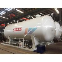 China Carbon Steel 40000 Liters 20MT LPG Gas Storage Tank Cooking Gas Filling Station supplier