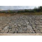 Erosion Control Reno Gabion Mattress / Woven Mesh Gabions Pvc Coated for sale