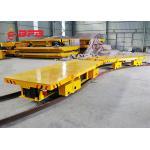 Warehouses Electric Transfer Cart , Railway Bogie Rail Transfer Trolley