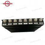 Heat Dissipation Mobile Phone Blocking Device 160W DC-12V/24V Jamming Up To 8 Signals for sale