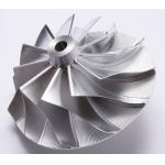 Forged 5 Axles CNC Fully Machined Aluminum Billet Compressor Wheel for sale