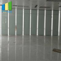 Acoustic Folding Collapsible Partition Soundproof Movable Partition Walls For Classroom for sale