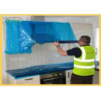 China Temporary Protective Film For Kitchen Wall Clear Adhesive Surface Protection Film for sale