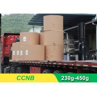 China CCNB Coated Board Paper Grey Back For Making Boxes Good Stiffness for sale