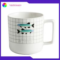 China Kids Ceramic Promotional Gifts Mugs Microwave / Disherwasher Safe 350ml Capacity manufacturer