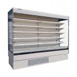 Commercial Upright Supermarket Open Display Fridge with Adjustable Shelving for sale