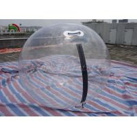 2m Dia PVC Inflatable Walk On Water Ball , Pool Inflatable Water Walking Ball for sale