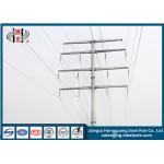 35KV Polygonal Anti-rust Steel Tubular Pole For Electrical Power Transmission Line