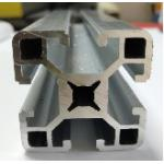 40mm*40mm Thickness 1.5mm Aluminum Extrusion Profiles for sale