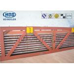 Economizer Upper Bundle Arrangement Super Heater Coil With Anti Corrosion Shield for sale