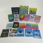 Custom small plastic mylar bags for powder, pill, HEMP Ziplock Packaging Bag for tobacco for sale