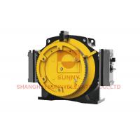 Lift Spare Parts Elevator Gearless Traction Machine Low Noise Load 800 ~ 1000kg for sale
